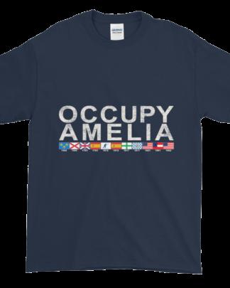 Occupy Amelia Ultra Cotton T-Shirt Navy