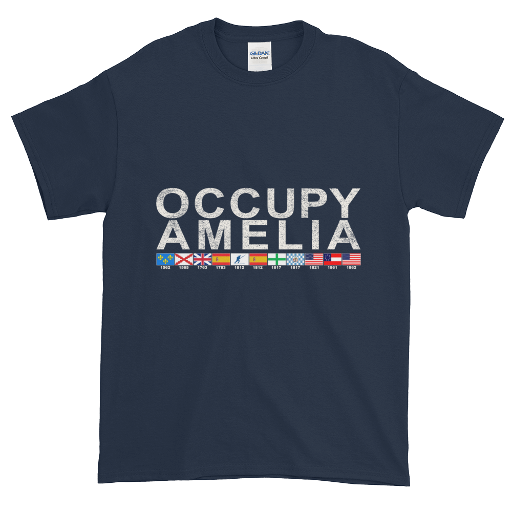 Occupy Amelia Ultra Cotton T-Shirt Navy