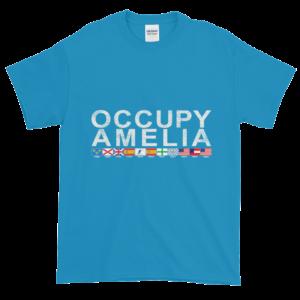 Occupy Amelia Ultra Cotton T-Shirt Sapphire
