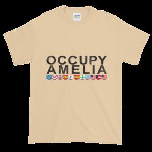 Occupy Amelia Ultra Cotton T-Shirt Tan