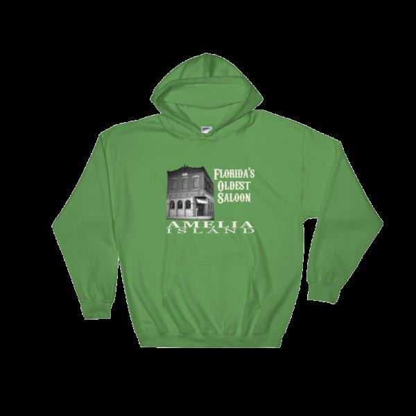 Oldest Saloon Hoodie Irish-Green