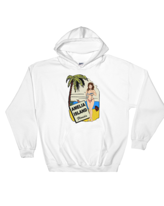 Oops My Bathing Suit Hoodie White