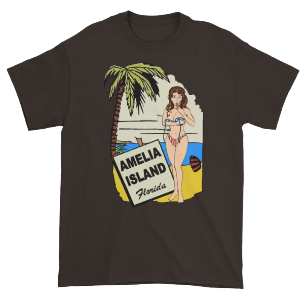 Oops My Bathing Suit Ultra Cotton T-Shirt Dark-Chocolate