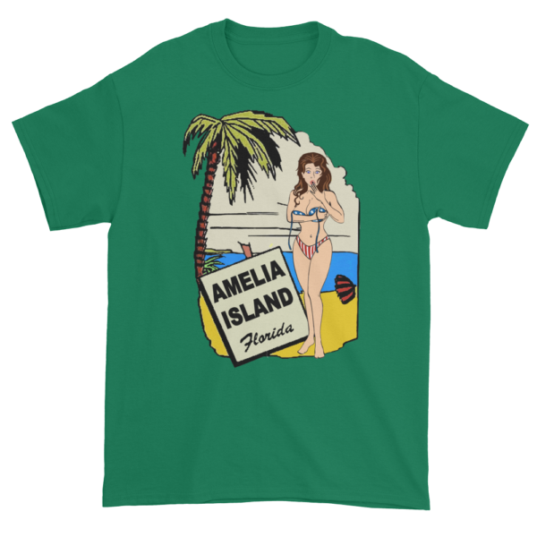 Oops My Bathing Suit Ultra Cotton T-Shirt Kelly Green