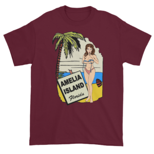 Oops My Bathing Suit Ultra Cotton T-Shirt Maroon
