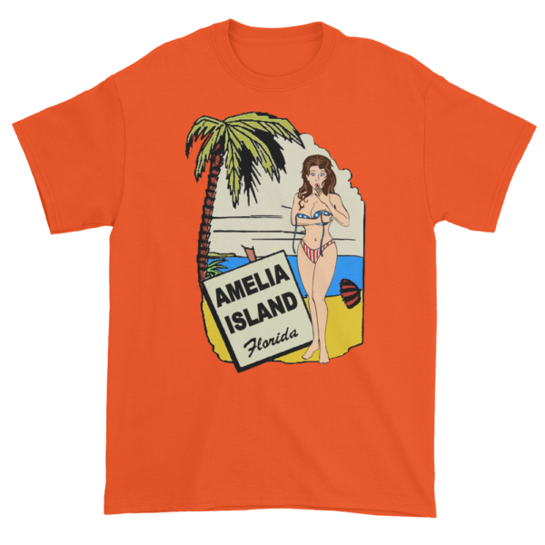 Oops My Bathing Suit Ultra Cotton T-Shirt Orange