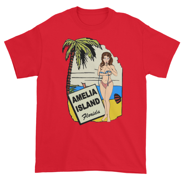 Oops My Bathing Suit Ultra Cotton T-Shirt Red