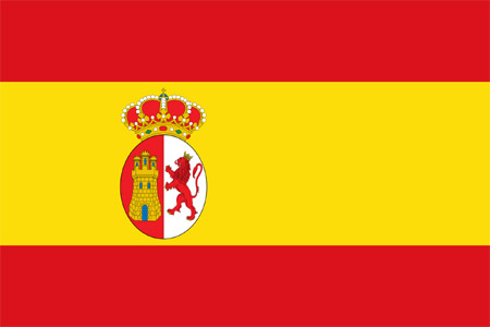 Spanish War Ensign Flag 1785-1931