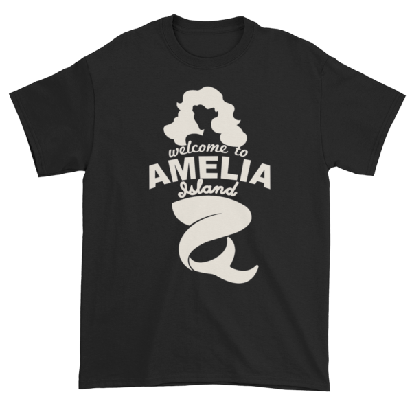 Welcome to Amelia Mermaid Ultra Cotton-T-Shirt Black