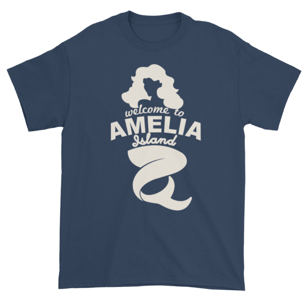 Welcome to Amelia Mermaid Ultra Cotton-T-Shirt Blue-Dusk