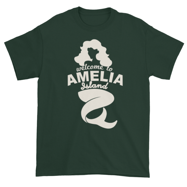 Welcome to Amelia Mermaid Ultra Cotton-T-Shirt Forest