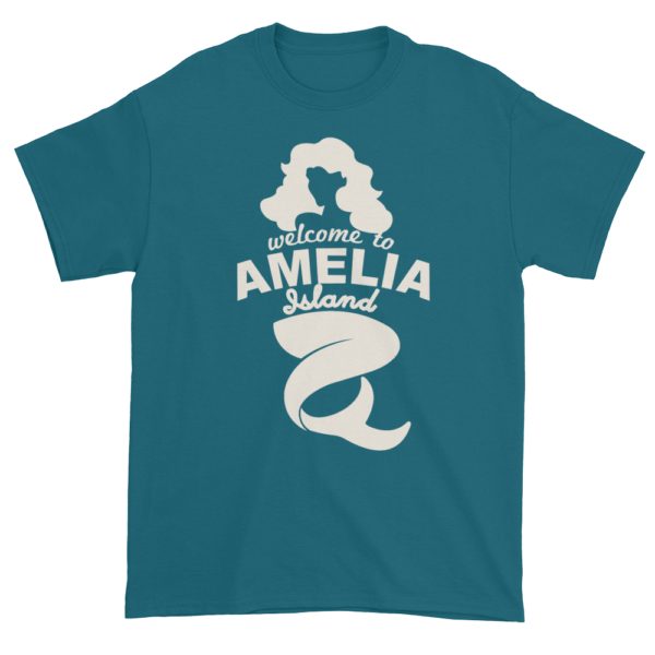 Welcome to Amelia Mermaid Ultra Cotton-T-Shirt Galapagos-Blue