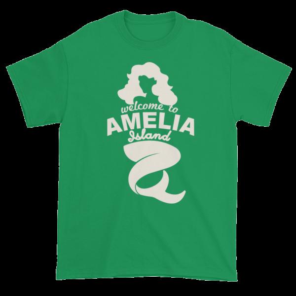 Welcome to Amelia Mermaid Ultra Cotton-T-Shirt Irish-Green