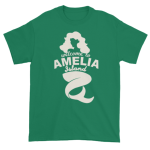 Welcome to Amelia Mermaid Ultra Cotton-T-Shirt Kelly