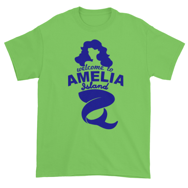 Welcome to Amelia Mermaid Ultra Cotton-T-Shirt Lime