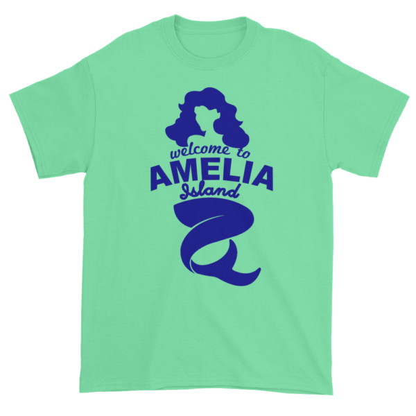 Welcome to Amelia Mermaid Ultra Cotton-T-Shirt Mint-Green