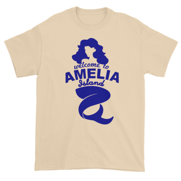 Welcome to Amelia Mermaid Ultra Cotton-T-Shirt Natural
