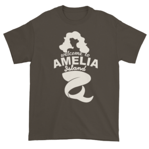 Welcome to Amelia Mermaid Ultra Cotton-T-Shirt Olive