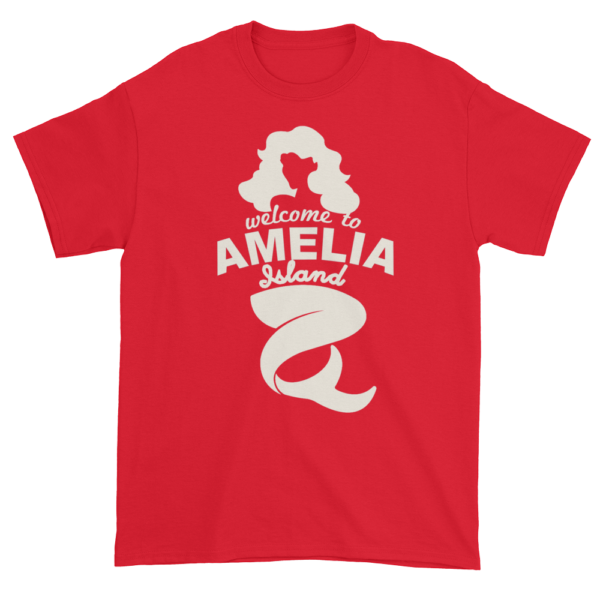 Welcome to Amelia Mermaid Ultra Cotton-T-Shirt Red