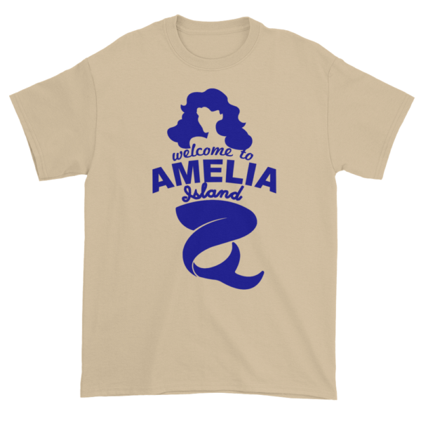 Welcome to Amelia Mermaid Ultra Cotton-T-Shirt Sand