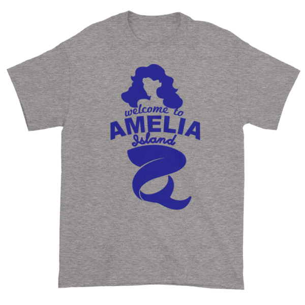 Welcome to Amelia Mermaid Ultra Cotton-T-Shirt Sport-Grey