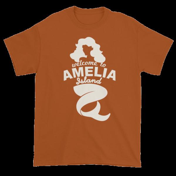 Welcome to Amelia Mermaid Ultra Cotton-T-Shirt Texas-Orange