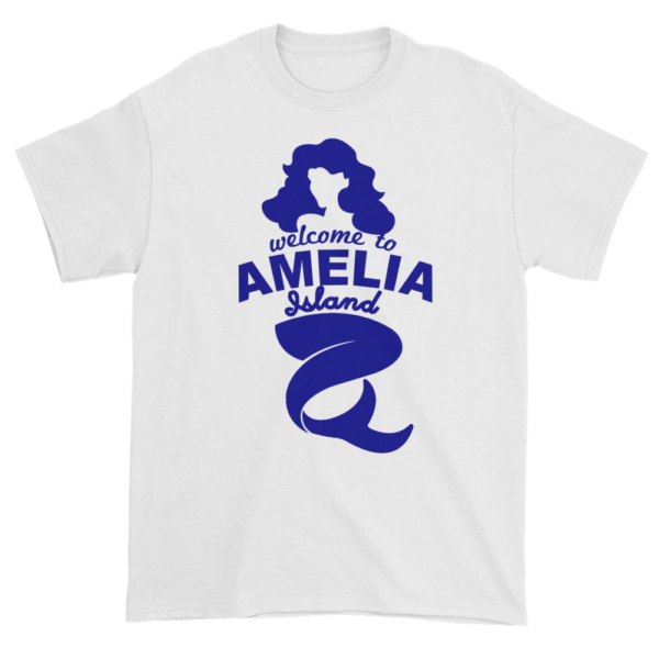 Welcome to Amelia Mermaid Ultra Cotton-T-Shirt White