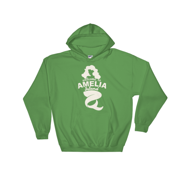 Welome to Amelia Mermaid Hoodie Irish-Green