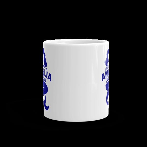 Welome to Amelia Mermaid Mug Front-view 11oz