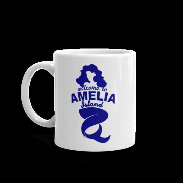 Welome to Amelia Mermaid Mug Handle-on-Left 11oz