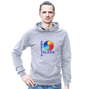 Yin & Yang Pullover Front Male Model Heather-Grey