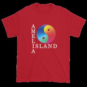 Yin & Yang Ultra Cotton T-Shirt Cherry-Red
