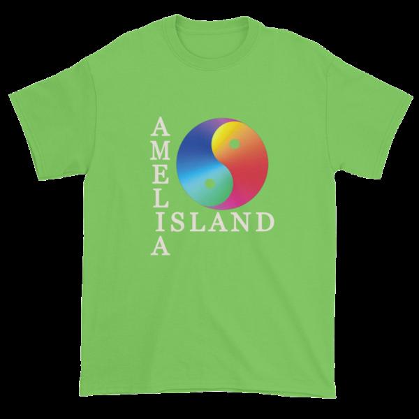 Yin & Yang Ultra Cotton T-Shirt Lime Green