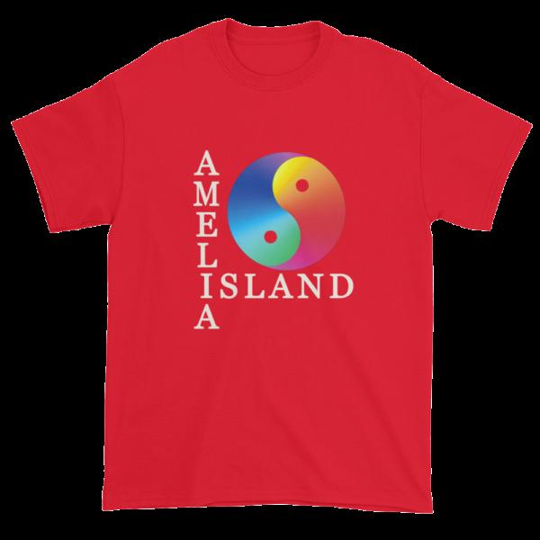 Yin & Yang Ultra Cotton T-Shirt Red