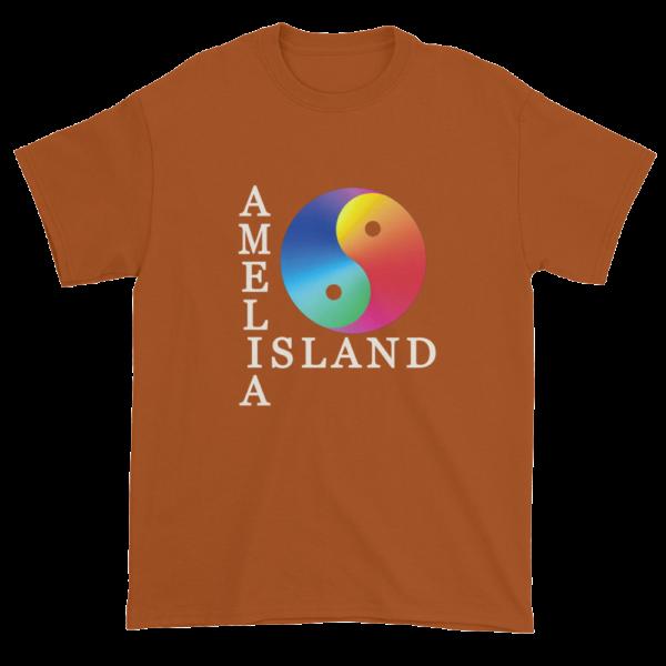 Yin & Yang Ultra Cotton T-Shirt Texas-Orange